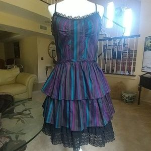 Betsey Johnson Layered Ruffle Dress